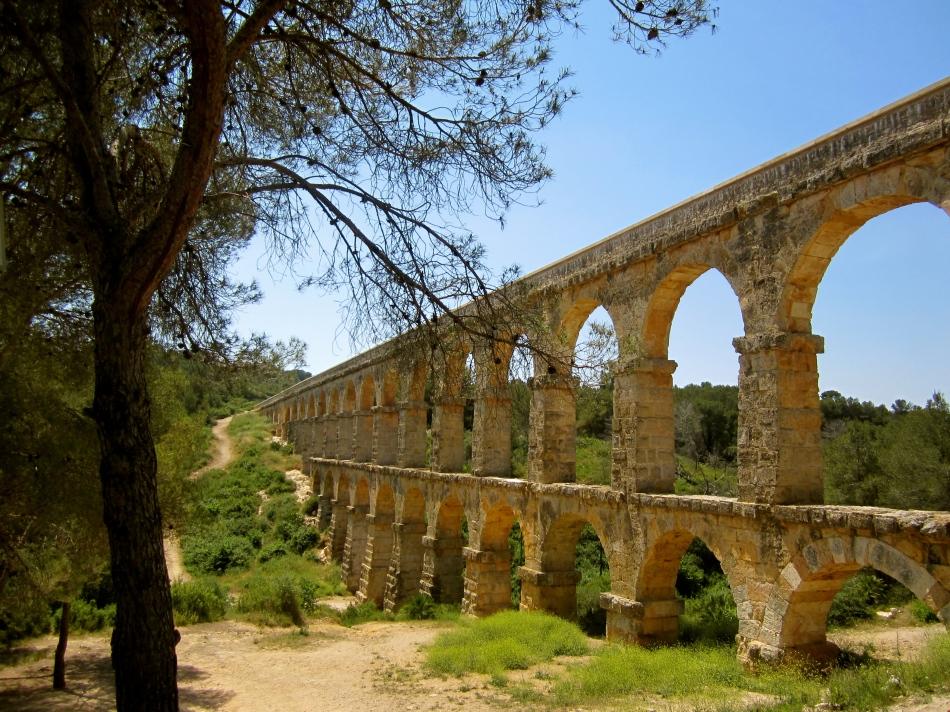 Roman Aqueduct outside Tarragona