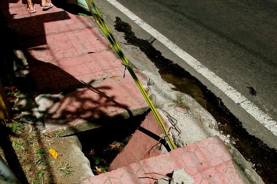 BIG Sidewalk Hazard
