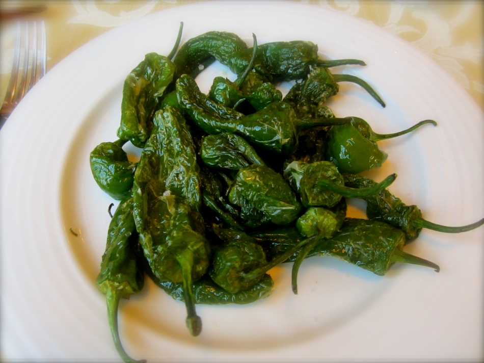 Padrones Peppers! Yum!