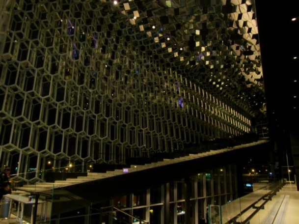 Inside the Harpa