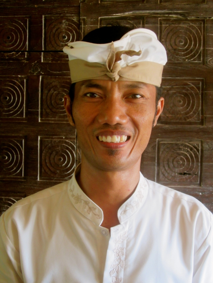 Mr. Wayan in Ubud
