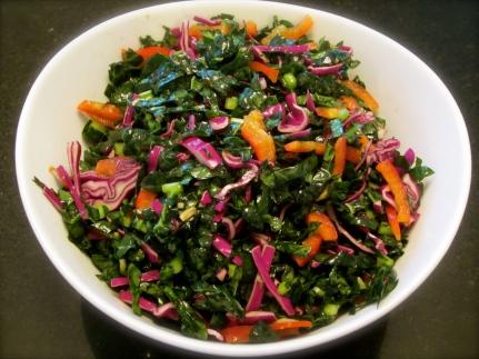 Asian-style Kale Salad