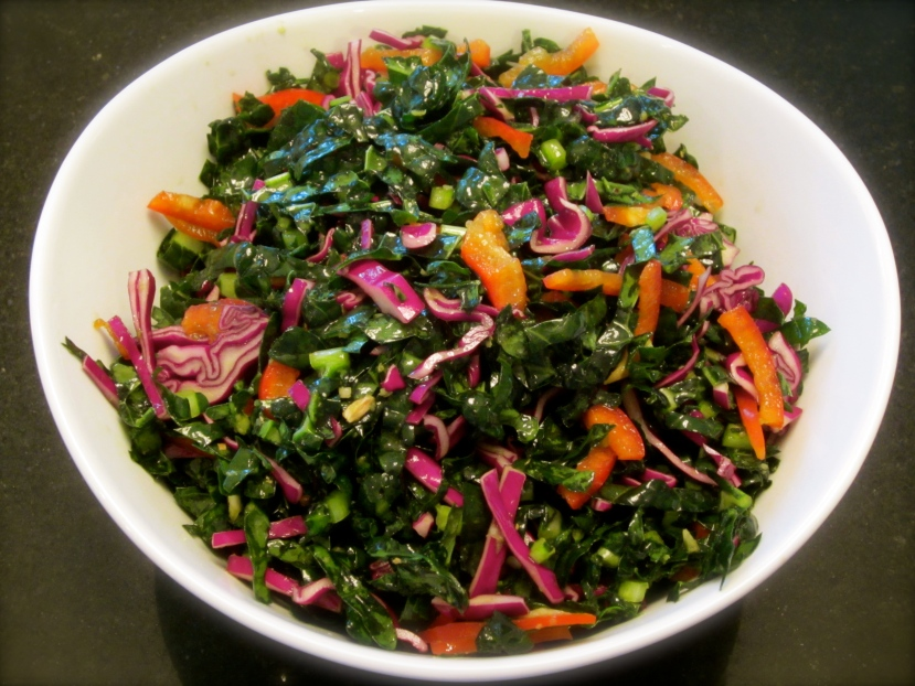Asian-style Kale Salad