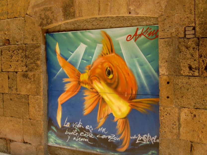Mural, Tarragona, Spain
