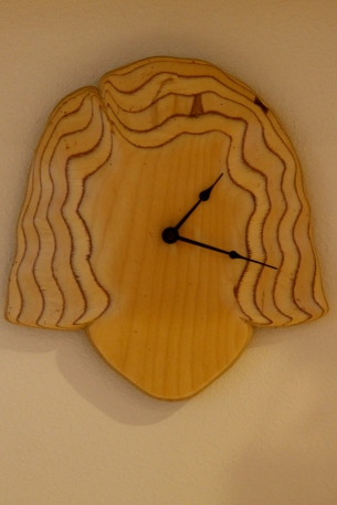 Clock adds structure to my day