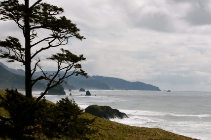 View of Cannon Beach, Oregon