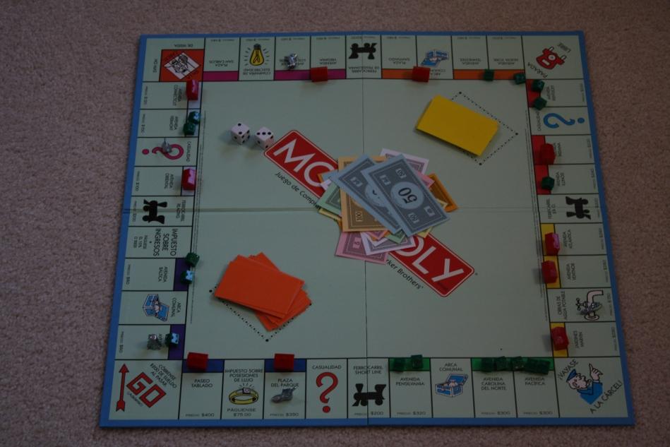 Macro pics monopoli board 046