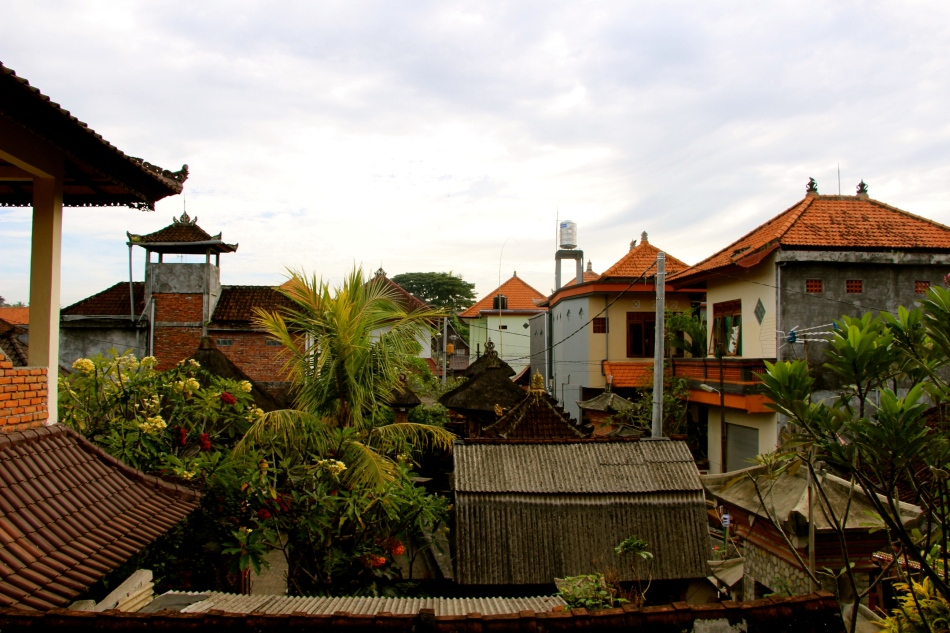View over Ubud from Arjuna House