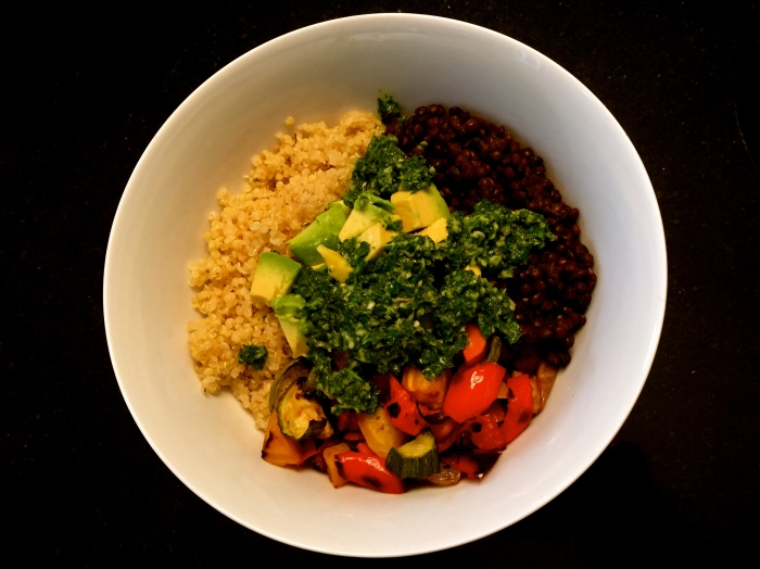 Vegan Chimichurri Bowl