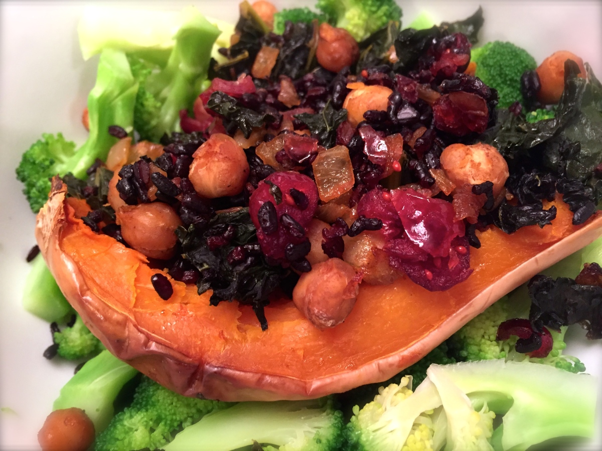 Tasty Tuesday ... Jeweled Stuffed Winter Squash