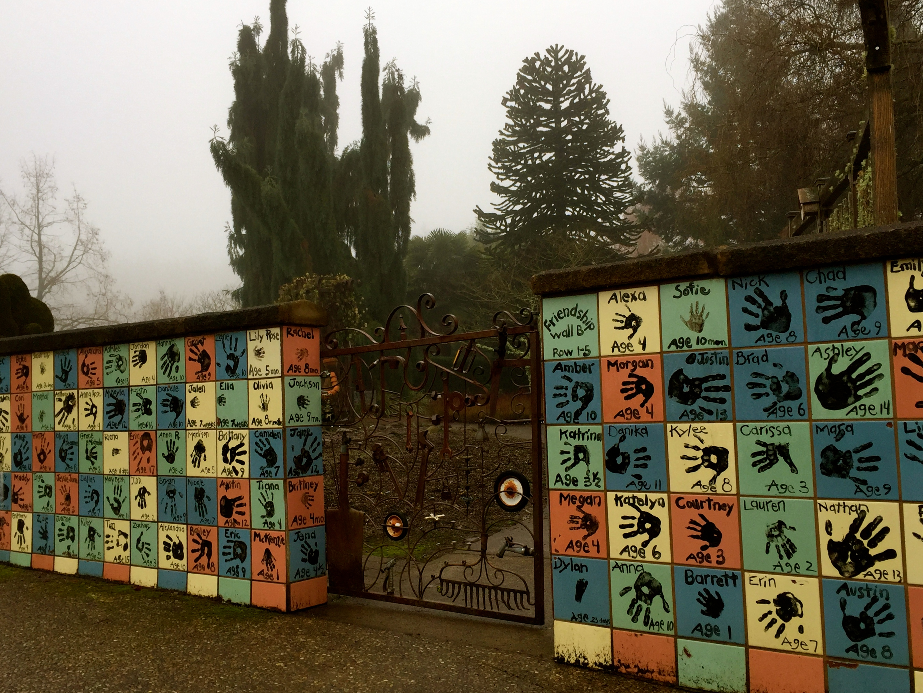 Winter Magic at The Oregon Garden, Part 4 | in cahoots with muddy boots