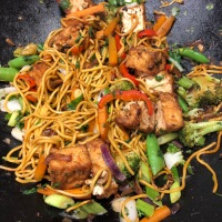 Tasty Tuesday ...  Vegetarian Vegetable Yakisoba